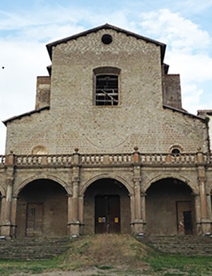 Ex Chiesa di Santa Maria in gradi Viterbo - h